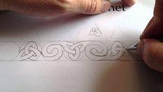 How to Draw Celtic Patterns, Triskele & Double Spiral, Rodney's Stone – Hildur.K.O