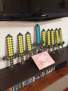 Minecraft swords :)