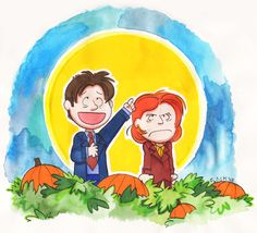 Mulder & Scully & The Great Pumpkin (Of Love)