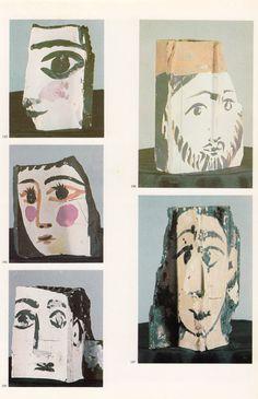 Pablo Picasso. Fragment(s) of brick, 1962