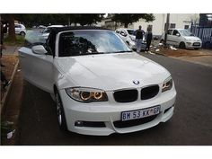 This beauty is in very good condition, full leather interior, low mileage, full service history one owner and is accident free .for viewing contact sales reps 0600707656,/Whatsapp 0600707656/0600707656.BMW 1 SERIES CONVERTIBLE 125i ConvertiblePower -  160 kW @ 6100 rpmTorque -  270 Nm @ 4850 rpmEconomy - 8.1 l/100kmEmissions - 194 g/kmEmissions Rating - EU4Gears - 6 / REARAcceleration - 6.9 secondsTop Speed - 237 km/hAirbags (total) - 6Length - 4