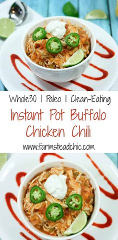 whole 30 recipes instant pot \ whole 30 recipes . whole 30 recipes . whole 30 recipes breakfast . whole 30 recipes dinner . whole 30 recipes crockpot . whole 30 recipes instant pot . whole 30 recipes week 1 . whole 30 recipes easy Paleo Soup, Paleo Chili, Paleo Chicken Chili Recipe, Paleo Recipes, Real Food Recipes, Chicken Recipes, Paleo Meals, Budget Recipes, Chicken