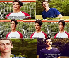"""This was my favorite moment between Scott & Stiles because Stiles saying """"You still got me"""" just embodies how much of a great friend he is. Through everything, he always stood by Scott even when others walked away, and when Scott failed to care or see how faithful Stiles was to him. I relate to Stiles so much, and this quote. Because through everything, even when I feel like I'm completely overlooked or under-appreciated, my friends still have me at the end of it all."""