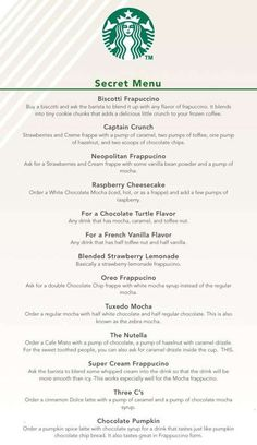 Starbucks secret menu...I have had the Neapolitan and it is GREAT!