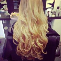 blonde hair... Someday ;)