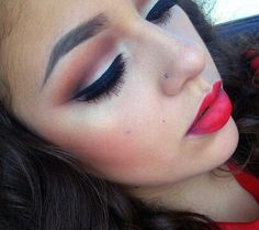 Fall makeup Those Eye brows && Lip Color Perfect