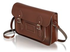 "The Classic Seasonal with Pale Gold 13"" in Chocolate 