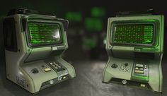 ArtStation - Consoles modular system, Ayi Sanchez