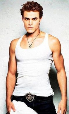 Paul Wesley.The one of two reason why one tunes into The Vampire Diaries.Happy Birthday#23rd July