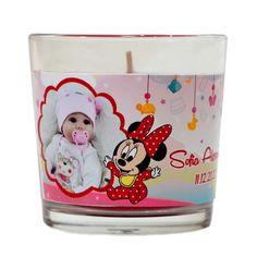 Lumanare personalizata marturie botez tematica Minnie Mouse Minnie Mouse, Wedding Invitations, Wedding Invitation Cards, Wedding Invitation, Wedding Announcements, Wedding Invitation Design