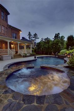 Lagoon Shaped In Ground Pool Backyard Pinterest Pools