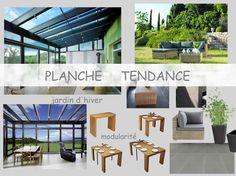 Planche Tendance d'une veranda