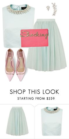"""""""OOTD for Spread Mag"""" by briarhoney ❤ liked on Polyvore featuring Ted Baker and Marchesa"""
