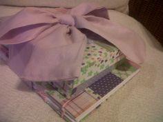 Conjunto Caixa + Caderno para presente de menina