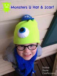 Tutorial: Monsters University Hat and Scarf