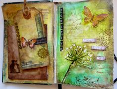Astrid's Artistic Efforts: Mixed Media positivity journal
