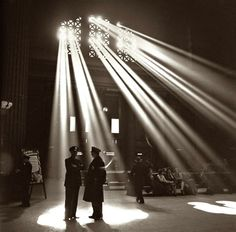 Union Station in Chicago 1943