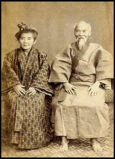 Meiji-era Japan Okinawan Oji and Oba