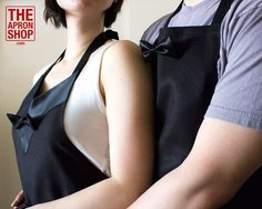 WEDDING GIFT Couple's matching aprons by TheApronShopDotCom, $100.00