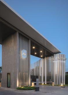 Main Gate Design, House Gate Design, Gate House, Entrance Design, Facade Design, Facade House, Exterior Design, Concept Architecture, Facade Architecture