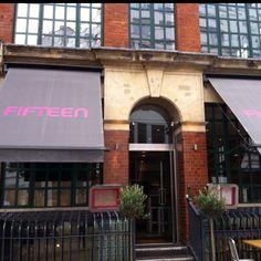 Fifteen - London Hoxton area. Jamie Oliver Restaurant