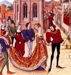 houppelande Clarice de Gasconne (1468) - Google zoeken