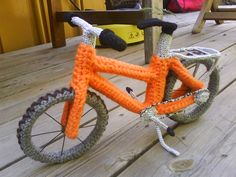 bicycle crochet pattern - Google Search