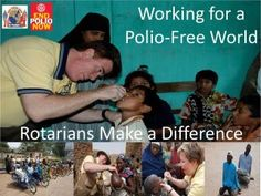Three for One Polio Challenge Initiative...In other words, every dollar raised will be tripled.