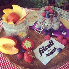 Výborný vanilkový chia puding (recept) Chia Puding, Strawberry, Fresh, Fit, Shape, Strawberry Fruit, Strawberries, Strawberry Plant
