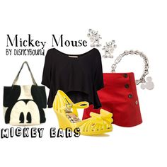 Disney Clothes - Disney  Bound. Cute but I would have to wear an undershirt...