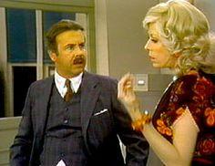 Tim Conway and Carol Burnett playing characters Mr. Tudball and Mrs. Wiggins