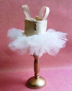 Beginners Corner - Make a Miniature Ballerina's Tutu