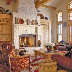 Southwest Fireplace Style