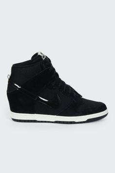 Nike, Womens Dunk Sky Hi Essential, black/black http://www.goodasgold.co.nz/collections/nike