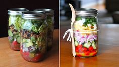 Fem smarte salater du kan ta med på jobb eller i parken