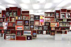 Oxford Bookstore in New Delhi by Normal Studio