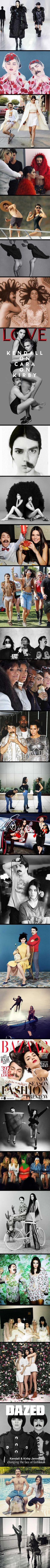 Kendall Jenner's Secret Twin, Kirby Jenner, Photoshops Himself Into Her Instagram Photos make it 1,000% better