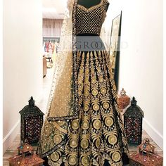 This exquisite vintage black lehenga will simply take your breath away! The incredible embroidery placement and design truly sets this piece apart! A stunning #wellgroomedinc original ✨The possibilities of creating your dream outfit are endless at Wellgroomed! All of our pieces can be customized to meet your personal style (fit, colour, fabric etc) Email us at sales@wellgroomed.ca to set up a consultation in person or over the telephone/skype with one of our fashion consultants!! We look…