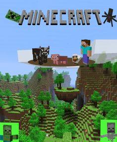 Minecraft poster by ~9-volt300 on deviantART