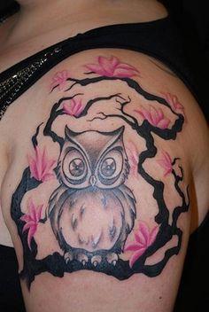 pink-owl-tattoo-design-ideas.jpg (550×821)