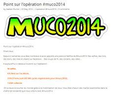 Un point sur l'opération #muco2014!!!  Objectif : 70 000 € pour la recherche de la transplation pulmonaire, 70 000 km parcourus par vous et vos amis  http://www.muco2014.com/point-loperation-muco2014/