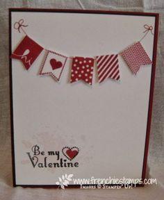 Stamp & Scrap with Frenchie: Banner Valentine