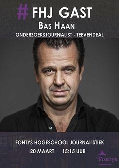 Onderzoeksjournalist Bas Haan, 20 maart 2017 gastcollege over zijn boek 'De rekening voor Rutte'.