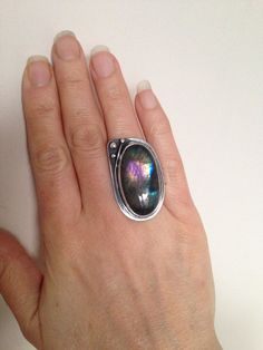 Fine Silver and Sterling Silver Bezelled by SoulLightVibrations, £150.00