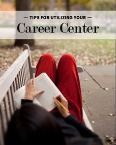 """"""" Something many students don't understand is that career development centers are not placement organizations."""" 5 Tips for Best Utilizing Your College Career Center"""