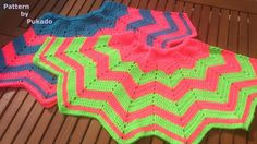 Crochet Pattern Only - Chevron Mini Skirt - Wonder if I can turn this skirt into a spider man cape.....