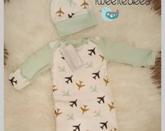 LOVE this airplane outfit for baby boy!!