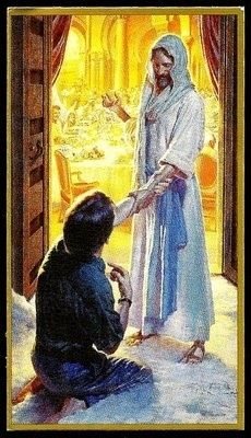 """""""The Invitation"""" .... I love this picture. Being invited to Christ's feast!"""