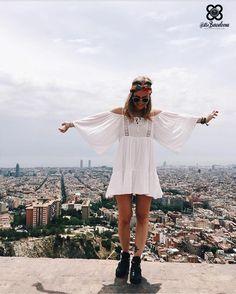 hippy ibiza style in barcelona