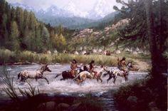 Art western Jim Carson kK